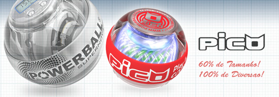 Power Ball Pico = 60% compacta, 100% poderosa