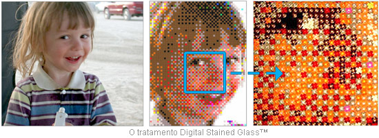 Tratamento Digital Stained Glass ™